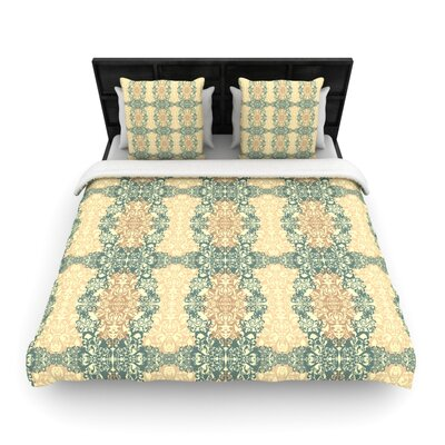 Mydeas Fancy Damask Woven Duvet Cover Size: Twin