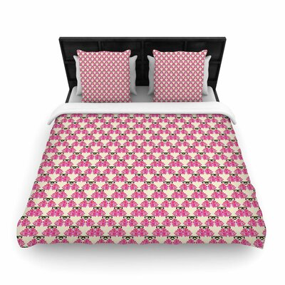 Mayacoa Studio Rosea Woven Duvet Cover Size: Full/Queen