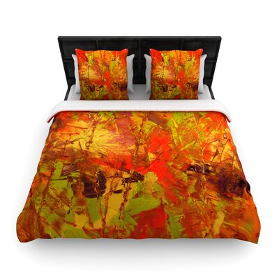 Jeff Ferst Autumn Woven Duvet Cover Size: Twin