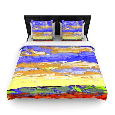 Jeff Ferst After the Storm Woven Duvet Cover Size: King