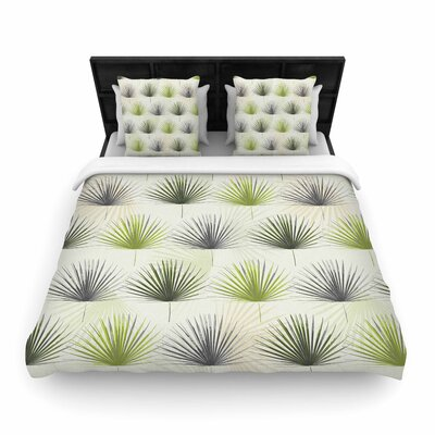 Julia Grifol My Holidays Time Woven Duvet Cover Size: King