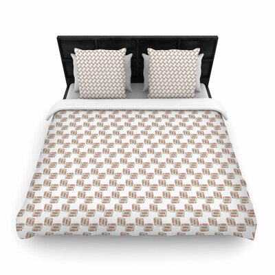 Juliana Motzko Geo2 Woven Duvet Cover Size: King