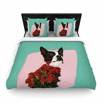 Jina Ninjjaga Bully Photography Woven Duvet Cover Size: King