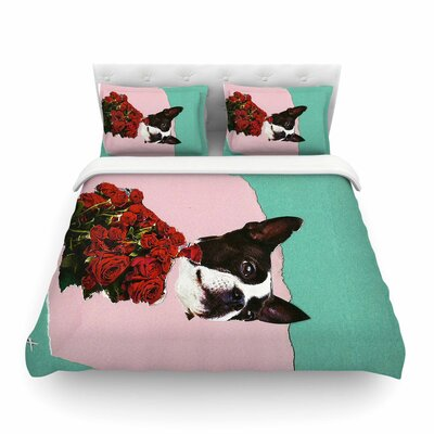 Jina Ninjjaga Bully Photography Featherweight Duvet Cover Size: Twin