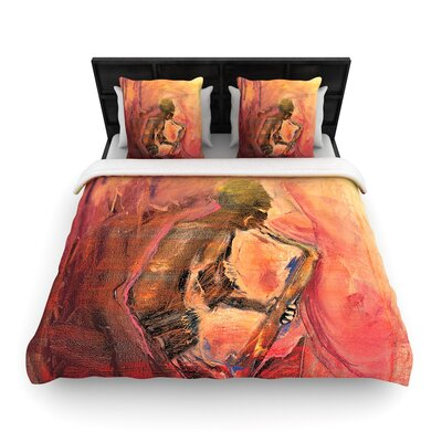 Josh Serafin Catch the Wind Woven Duvet Cover Size: Twin