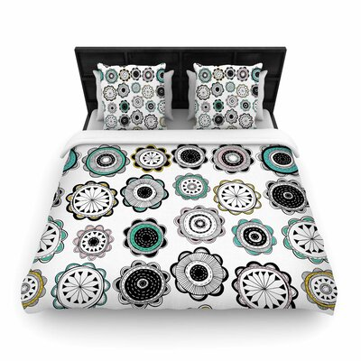 Jessica Wilde Carnival Woven Duvet Cover Size: Full/Queen