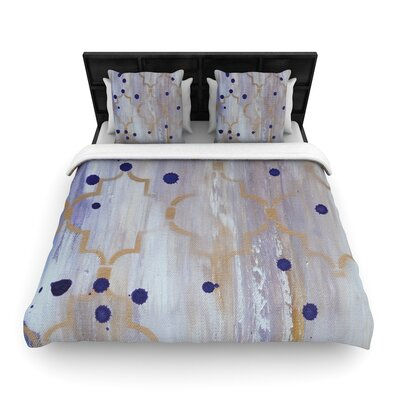 Kira Crees Lush Woven Duvet Cover Size: Twin