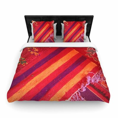 Luvprintz Carpet Woven Duvet Cover Size: Full/Queen