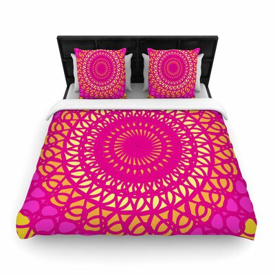 Pattern Muse Radiant Woven Duvet Cover Size: Twin