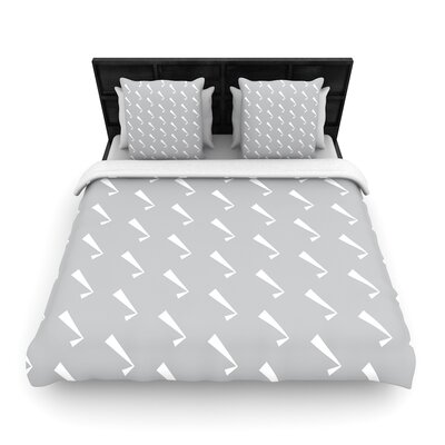 Check You out Woven Duvet Cover Size: King