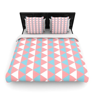 Be Still Woven Duvet Cover Size: Twin
