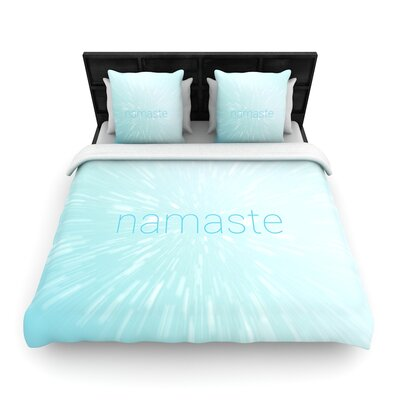 Namaste Woven Duvet Cover Size: Full/Queen