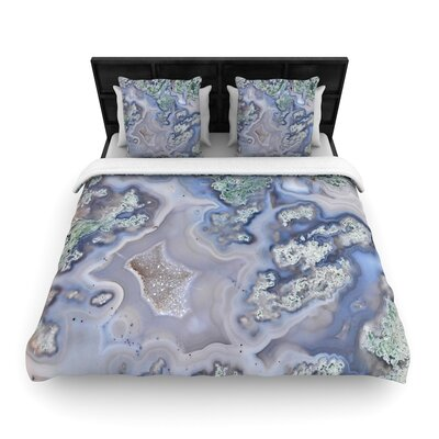 Geode Woven Duvet Cover Size: Full/Queen