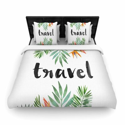 Travel Woven Duvet Cover Size: Full/Queen