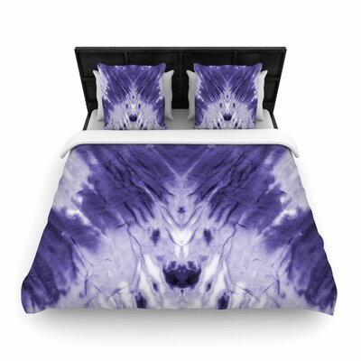 Dye Digital Woven Duvet Cover Size: King