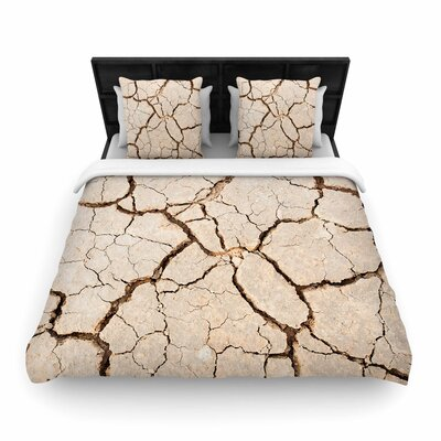 Drought Woven Duvet Cover Size: Twin