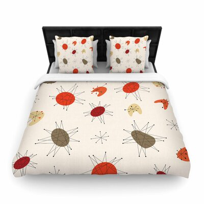 Party Woven Duvet Cover Size: King