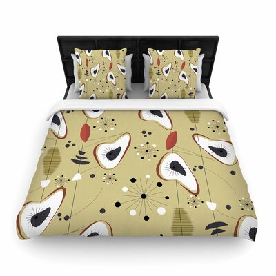 Galaxy Steaks Woven Duvet Cover Size: Full/Queen