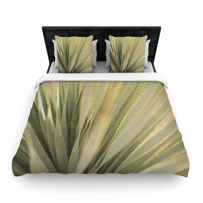 Kristi Jackson Cactus Woven Duvet Cover Size: Twin