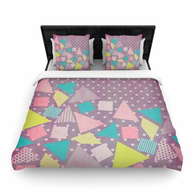 Louise Machado Candy Woven Duvet Cover Size: Full/Queen