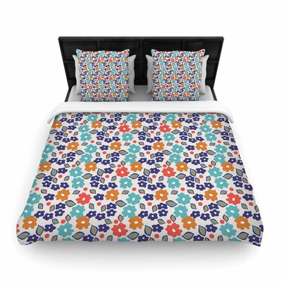 Louise Machado Joli Woven Duvet Cover Size: King