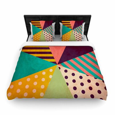 Louise Machado Umbrella Woven Duvet Cover Size: Full/Queen