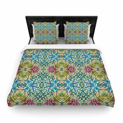 Laura Nicholson Prairie Dazzler Floral Woven Duvet Cover Size: Full/Queen