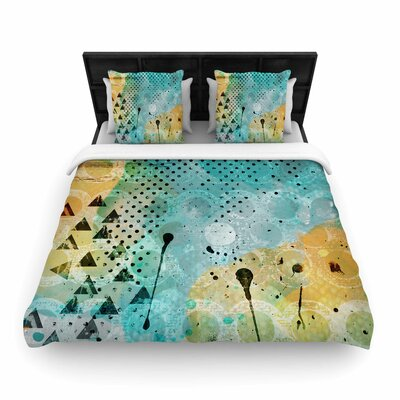 Li Zamperini JUMP Woven Duvet Cover Size: King
