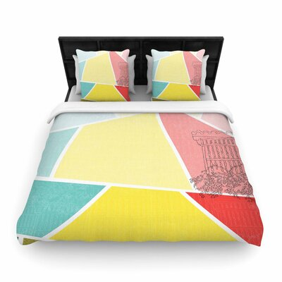 MaJoBV Cartagena Balconies Woven Duvet Cover Size: Full/Queen