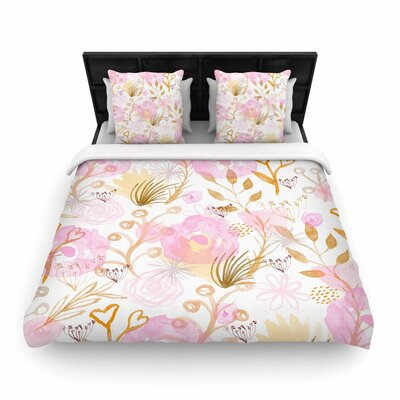 Li Zamperini Spring Time Woven Duvet Cover Size: Twin