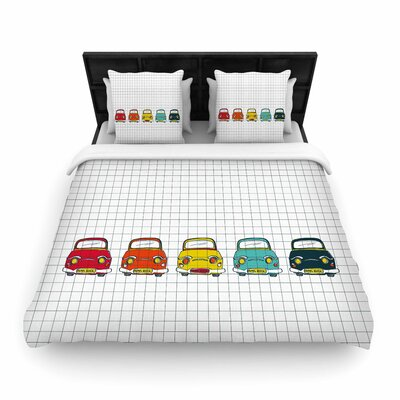 MaJoBV Boys Rock Cars Woven Duvet Cover
