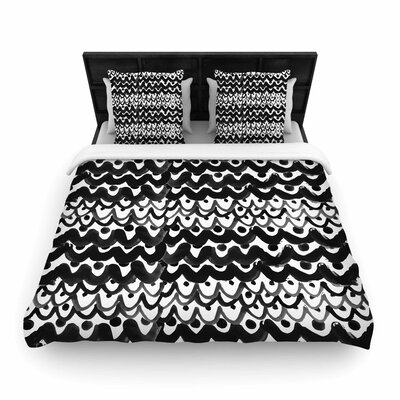 MaJoBV Finger Scales Woven Duvet Cover Size: Full/Queen