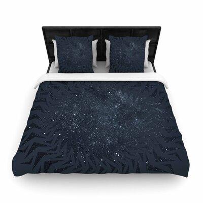 Matt Eklund Lunar Chaos Celestial Woven Duvet Cover Size: Twin