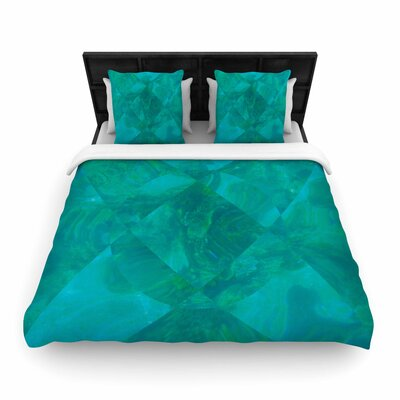 Matt Eklund under the Sea Woven Duvet Cover Size: Full/Queen