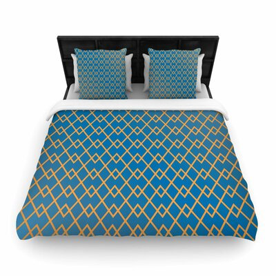 Matt Eklund Down By the Beach Woven Duvet Cover