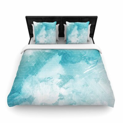 Matt Eklund Skyward Woven Duvet Cover Size: King