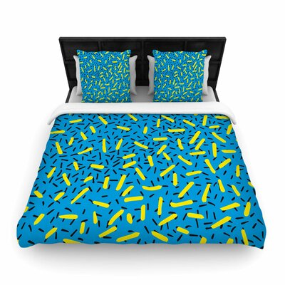 Matthias Hennig Wild Elements Pop Art Woven Duvet Cover Size: Full/Queen