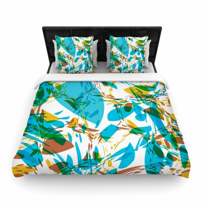 Matthias Hennig Wild Areas Floral Woven Duvet Cover Size: Twin