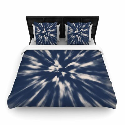 Nika Martinez Tie Dye Urban Woven Duvet Cover Size: Full/Queen