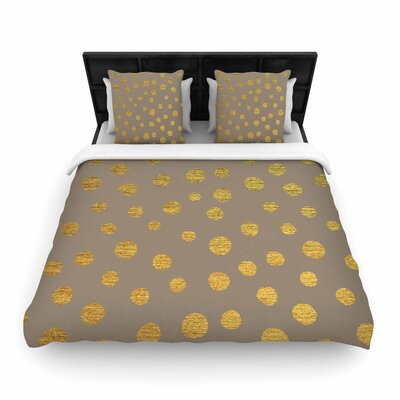 Nika Martinez Earth Dots Woven Duvet Cover Size: Full/Queen