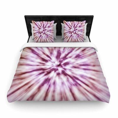 Nika Martinez Spring Tie Dye Urban Woven Duvet Cover Size: Full/Queen