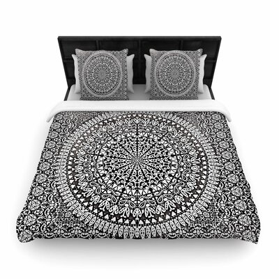 Nika Martinez Mandala Bandana Abstract Woven Duvet Cover Size: Twin