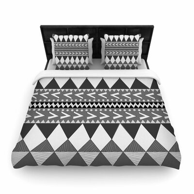 Nika Martinez Forest Woven Duvet Cover Size: Full/Queen