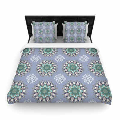 Nika Martinez Princess Arabesque Woven Duvet Cover Color: Purple