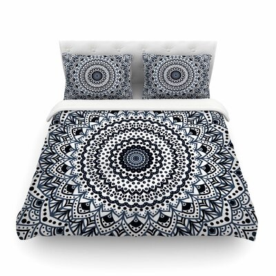 Nika Martinez Boheme Dream Mandala Illustration Featherweight Duvet Cover Size: Twin