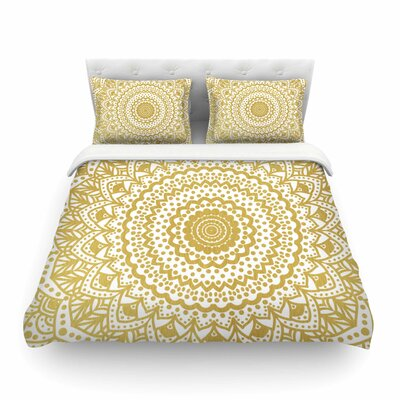 Nika Martinez Mandala Illustration Featherweight Duvet Cover Size: Twin