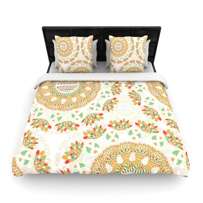 Miranda Mol Bohemian Bright Geometric Woven Duvet Cover Size: Full/Queen