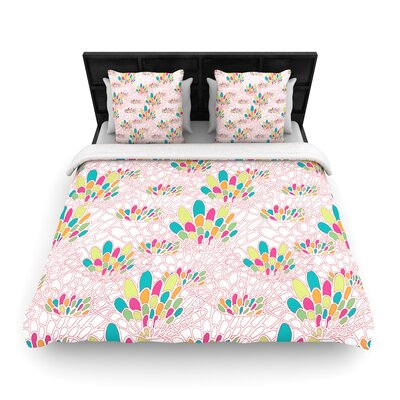 Miranda Mol Blown Away Woven Duvet Cover Size: King