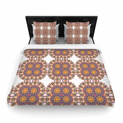 Miranda Mol Ornamental Tiles Woven Duvet Cover Size: Twin