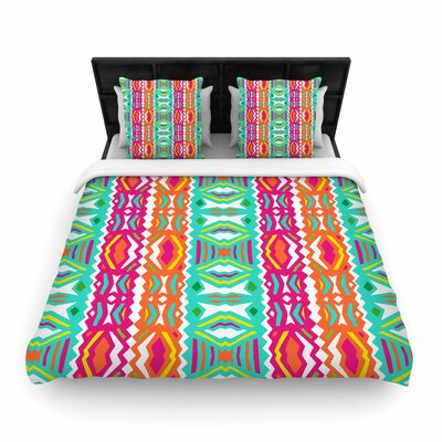 Miranda Mol Ethnic Summer Woven Duvet Cover Size: Twin